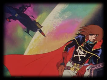 This, the first and arguably greatest Harlock anime, is its own self